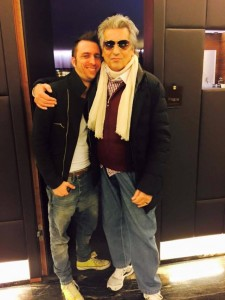 Andrea con Toto Cutugno